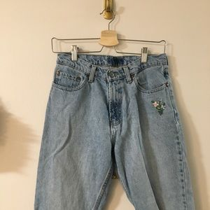 Vintage Embroidered Jeans